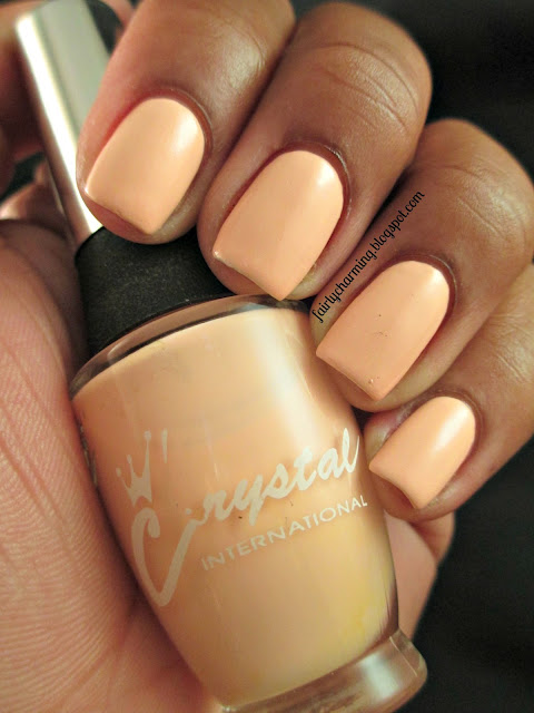 Crystal International Monsieur, nude, beige, swatch, Sundays Are For Swatching, nails, mani