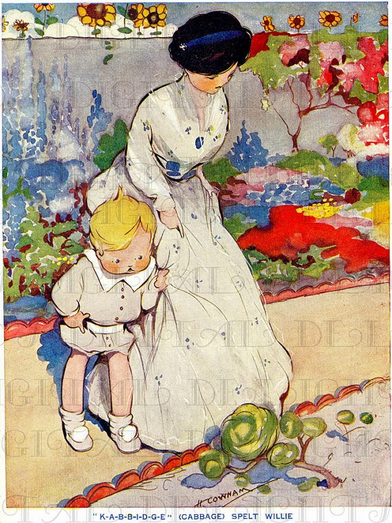 Children's Book Illustrator Hilda Gertrude Cowham
