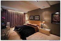 Проект спальной комнаты, реализованный дизайн-бюро Armadesign