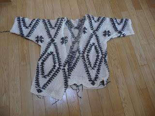 wzór aztecki sweter