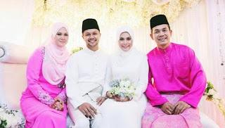 Gambar Perkahwinan Anak Rosyam Nor