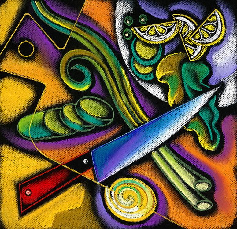 Cuadros modernos pinturas y dibujos bodegones coloridos for Pinturas bodegones modernos