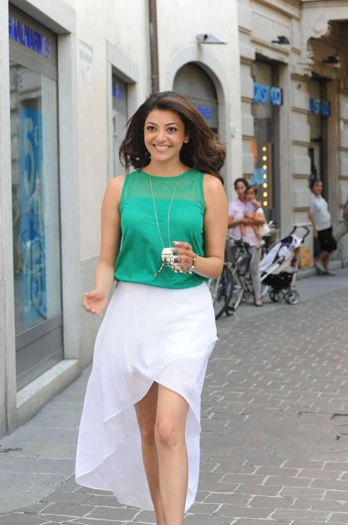 Kajal Agarwal in Green Top
