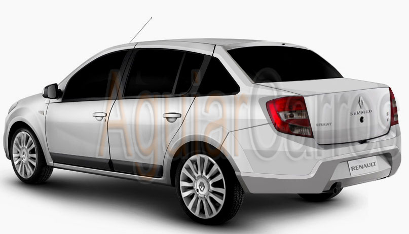 Aguiar Carros Projecao Novo Renault Sandero Sedan