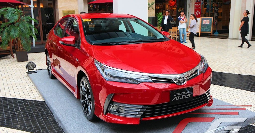 Toyota motor philippines gives 2017 corolla altis an a list update w photos specs prices