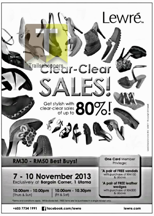 Lewre Clear-Clear Sales 2013