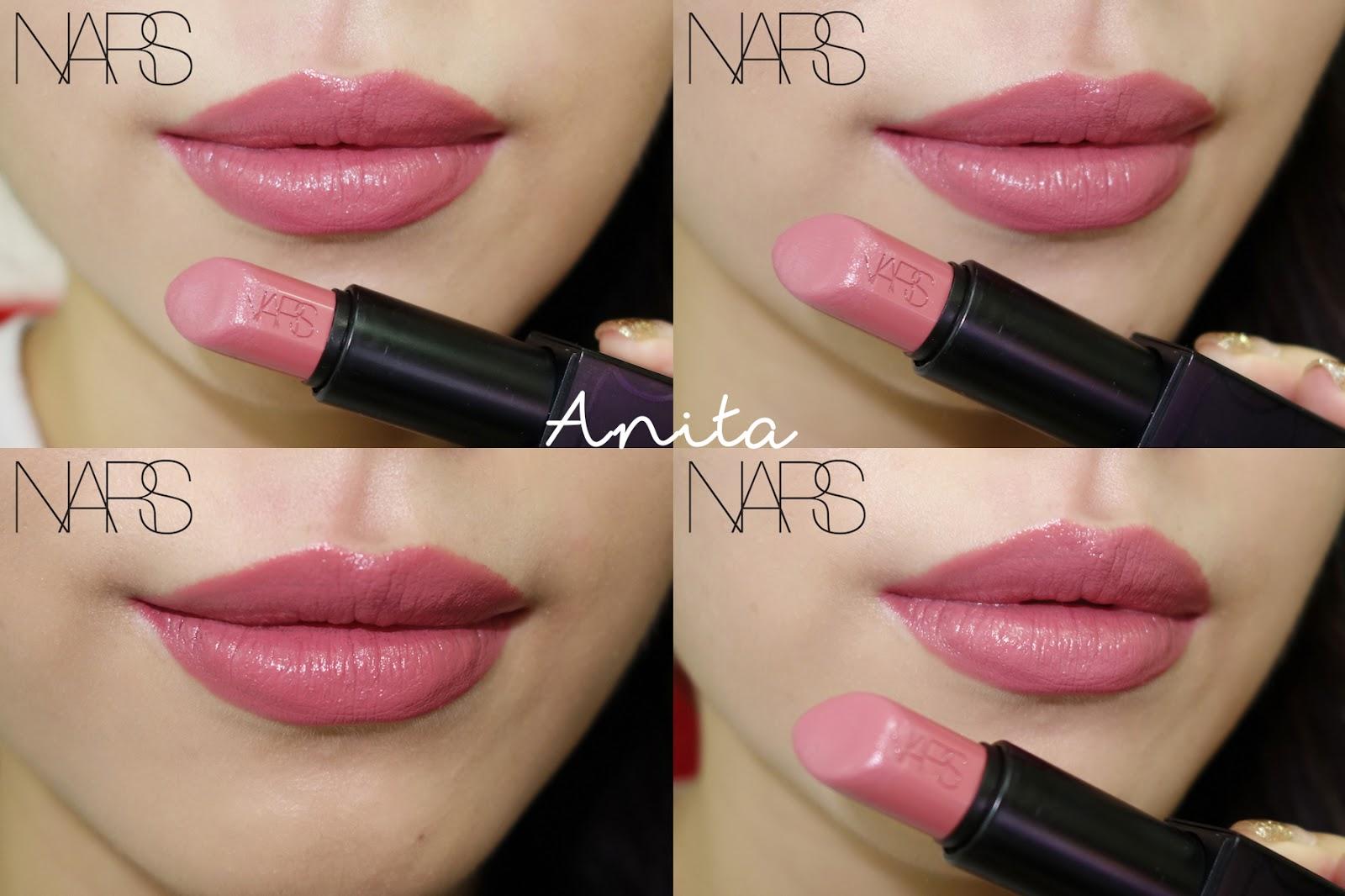 Nars Audacious Lipstick Anita Natalie Xueqi Beauty