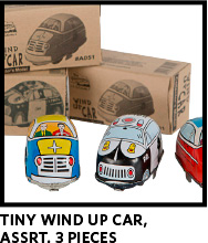 Tiny Wind up Cars