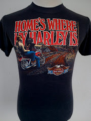 home&#39;s where my harley is