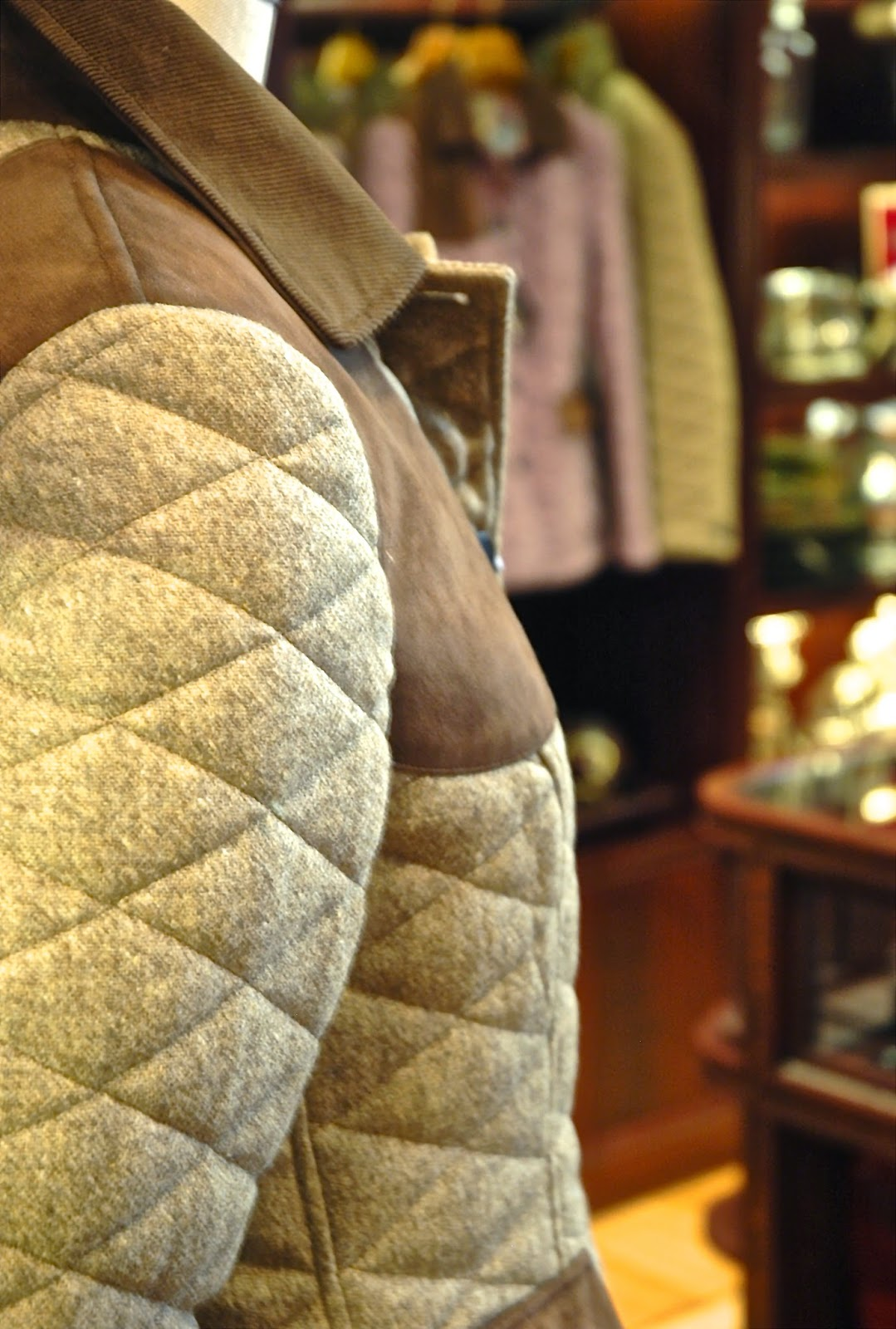 Womens quilted hunting jacket