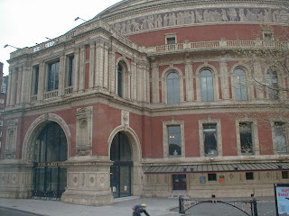 Number one london a couple in england day four part three for Door 12 royal albert hall