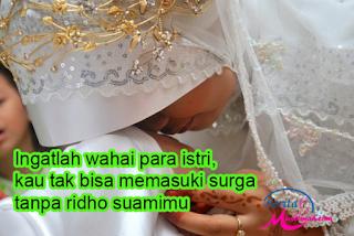 Begitu Pentingnya Ridho Suami pada Istri