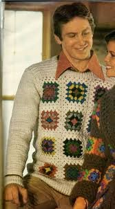 crochet jumper for a man cool