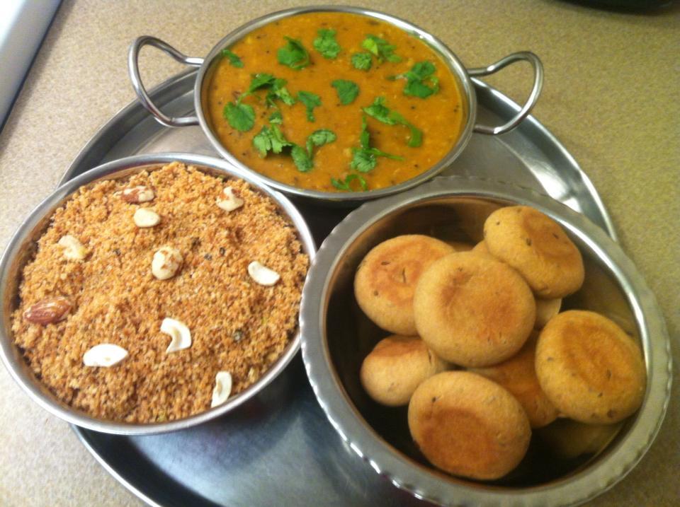 Food 4 Fun Dal Bati Churma Gt A Traditional Recipe