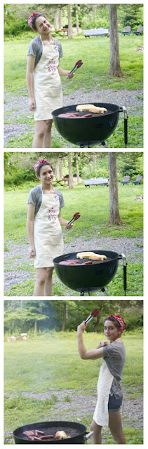 girl grilling: simplelivingeating.com