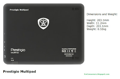 Prestigio Multipad tablet