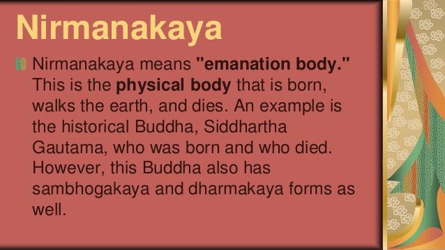 Humble nirmanakaya