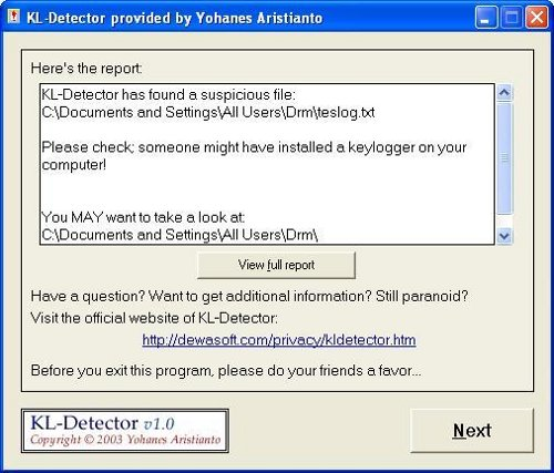 Object for zoo tycoon 2. KL-Detector v1.3 is also very beneficial freeware