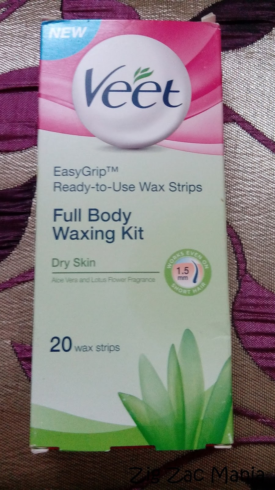 Veet Ready To Use Wax Strips  Dry Skin  Review