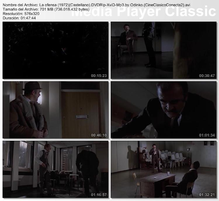 La Ofensa | 1972 | The Offence | Secuencias de la pelicula