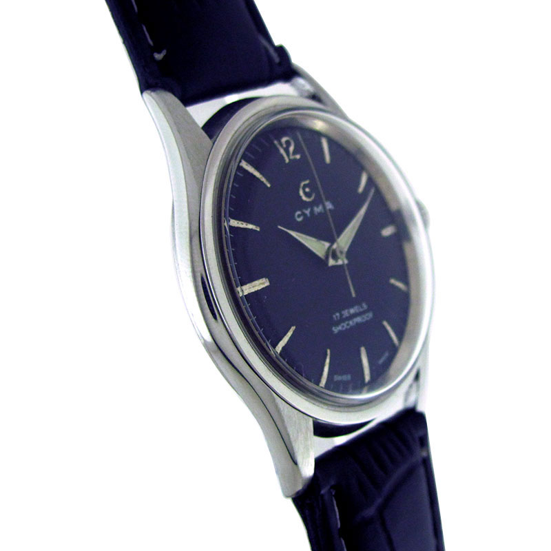 antique watches collection by wristmenwatches cyma black