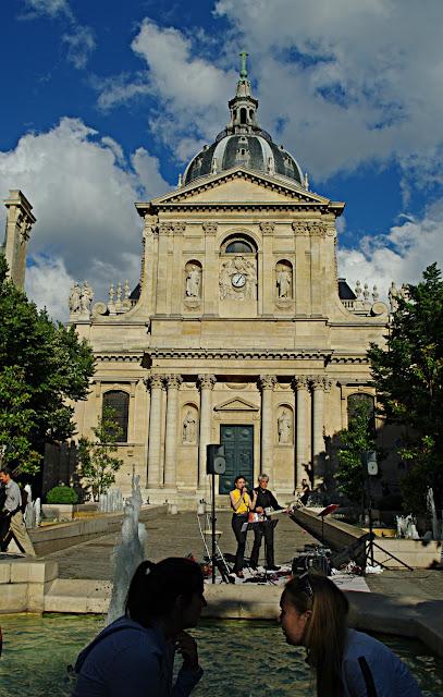 Place de la Sorbonne poze frumoase Paris images