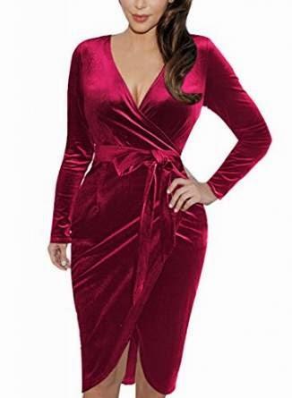 plus size wrap dress: red wrap dress plus size