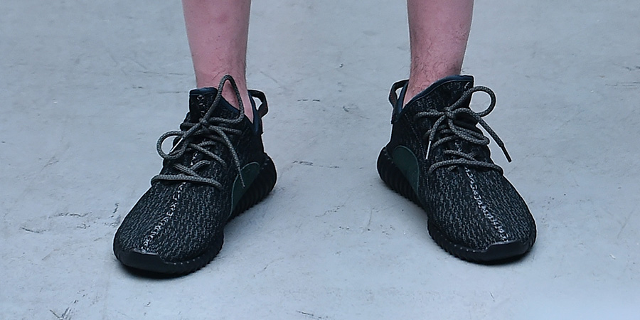 Here 's A Closer Look At This Friday 's adidas YEEZY Boost 350' Black