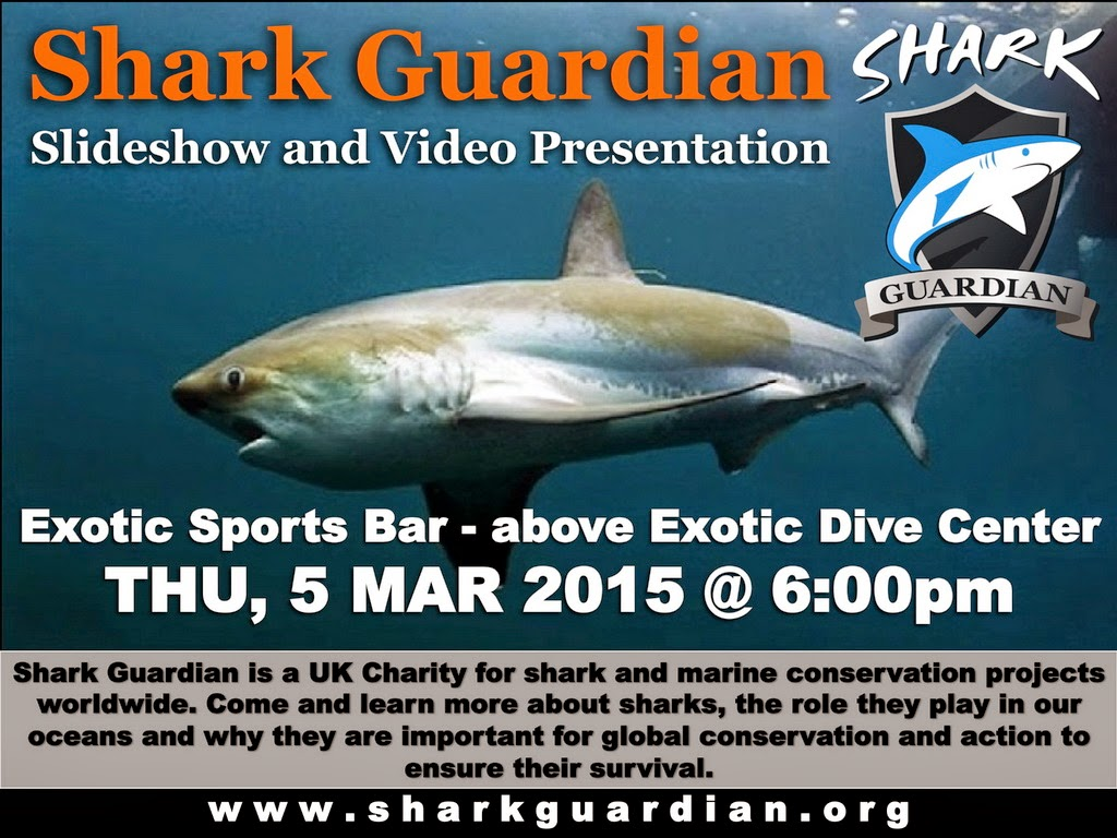 Shark Guardian presentation on Malapascua in the Philippines