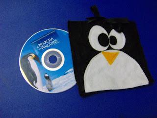 história dos pinguins
