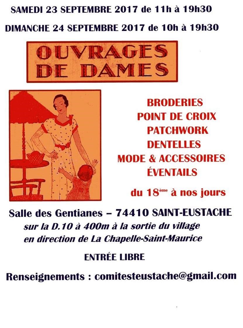 Ouvrages de dames à Saint Eustache 74