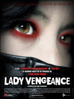Lady vengeance película movie park chan-wook venganza ojos rojos