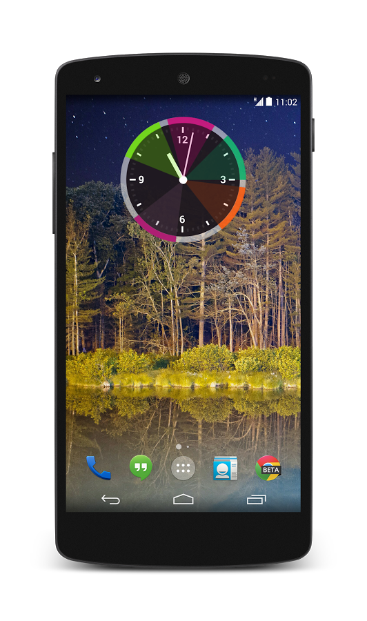 12hour-clockwidget-for-android
