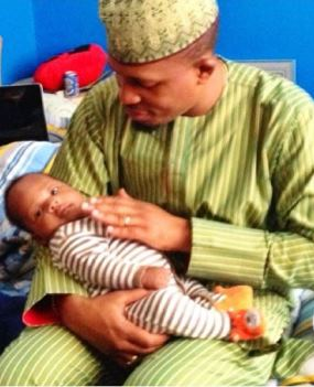 Naeto C shows off son on Father's Day