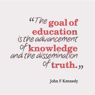 John F Kennedy talks about goal of education