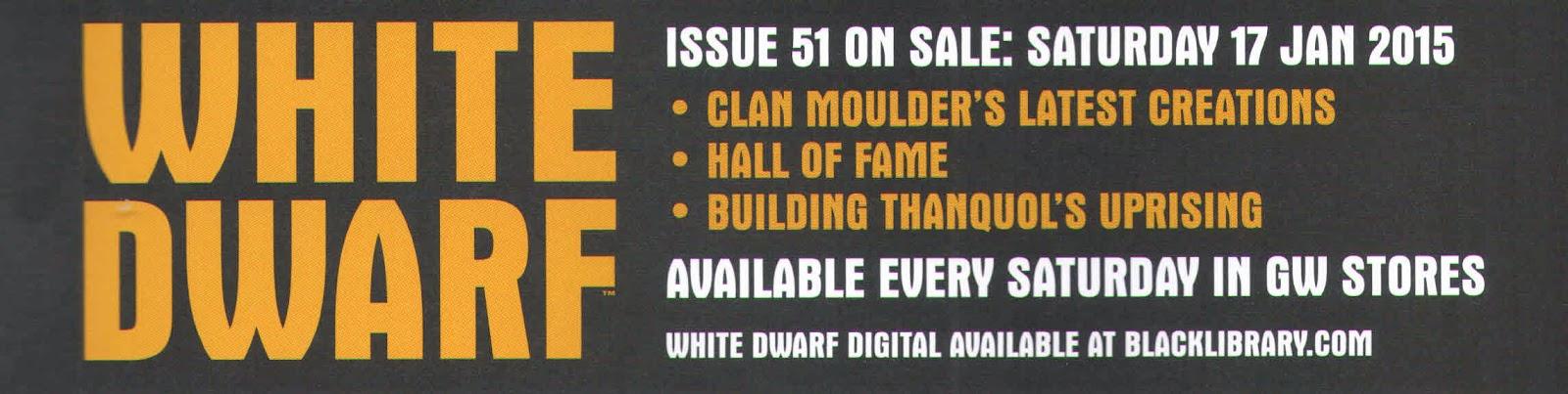 Adelanto de la White Dwarf Weekly número 51