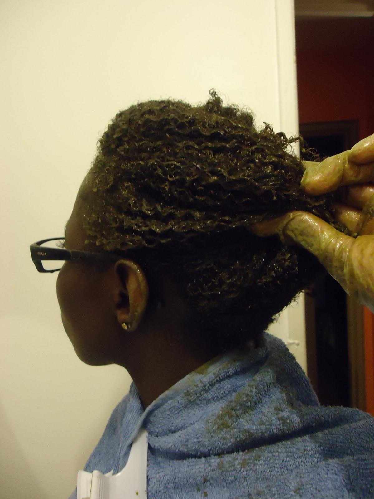 Selektiv les moyens pour la sortie des cheveu