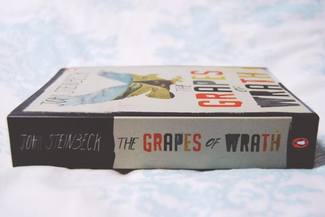 Why did Steinbeck end the book, The Grapes of Wrath, the way he did?