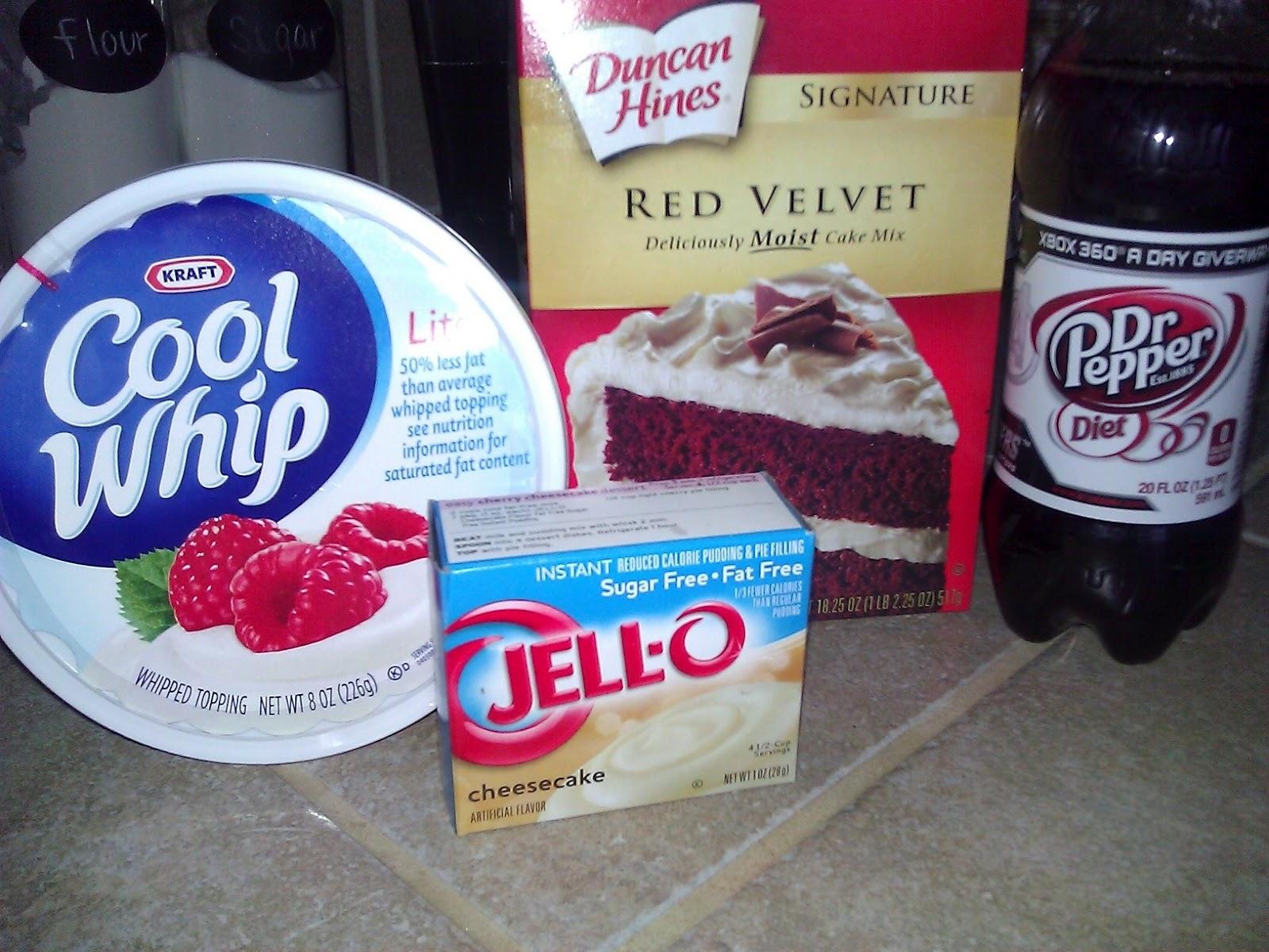 Dr Pepper Red Velvet Cake