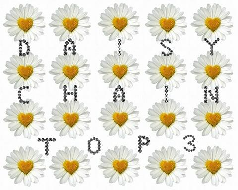 In de Top 3 bij Daisy Chain Challenges!
