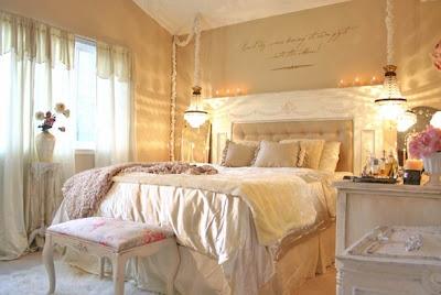 shabby chic dormitorio
