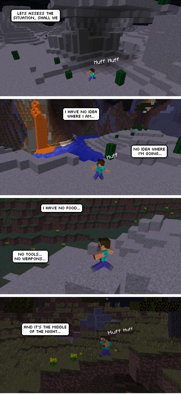 Minecraft epic story
