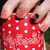 Nail stamping tutorial: Minnie Mouse