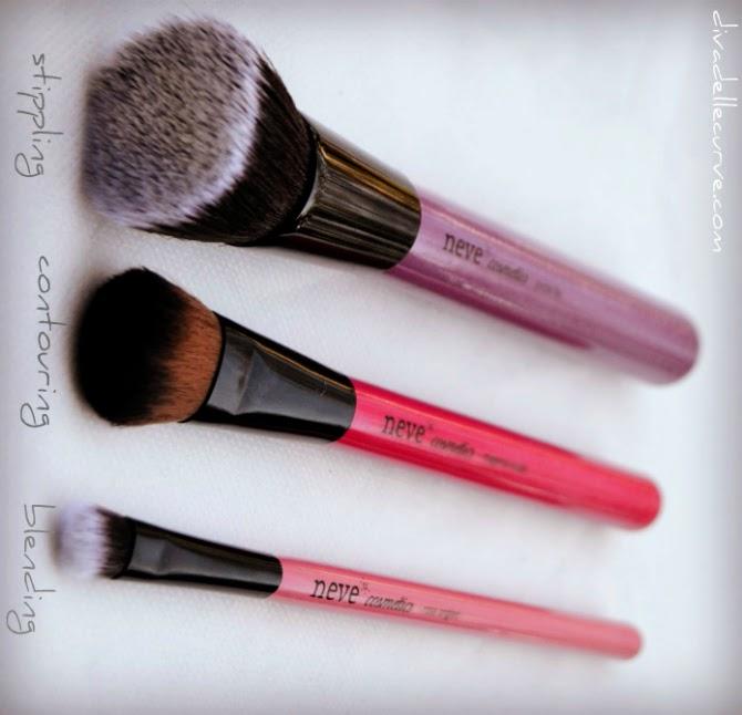 pennelli vegan cruelty free neve cosmetics