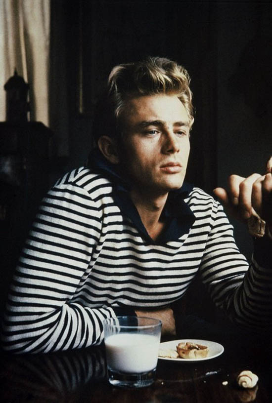 James Dean rayas navy