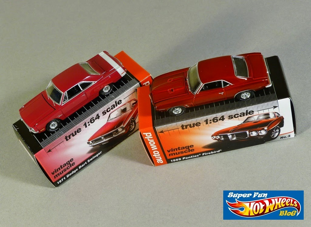 Super Fun Hot Wheels Blog: Auto World Vintage Muscle Cars