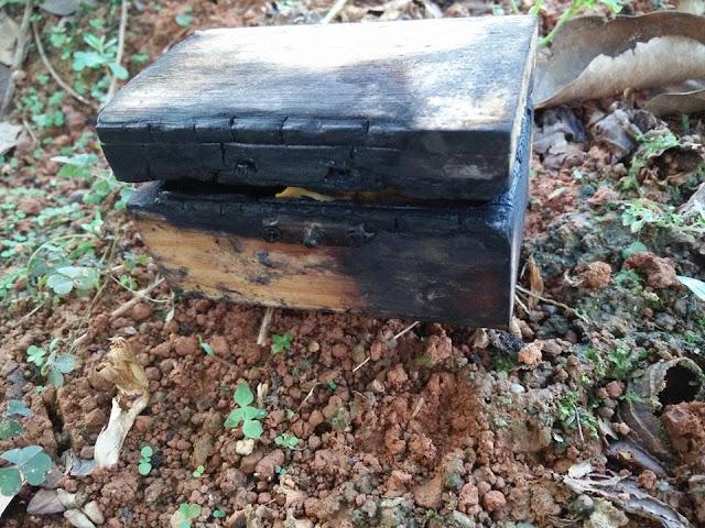 Jumpa Kotak Terbakar, Gambar, Rupanya Sihir Pemisah Suami Isteri