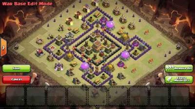 Town Hall 8 Base War 2016