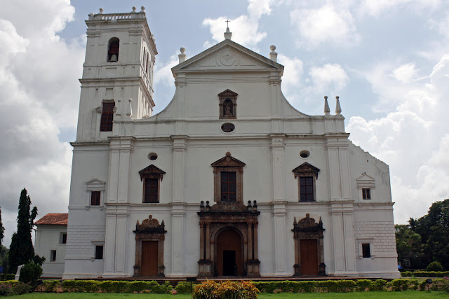 old goa cathedral