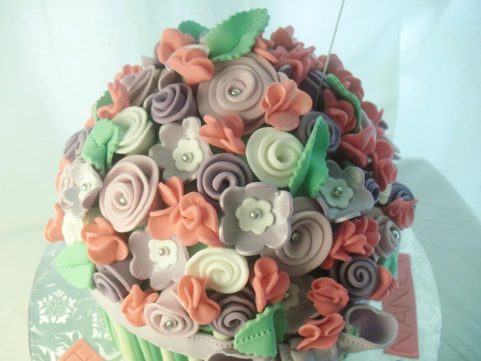made FRESH daily: Flower Bouquet Birthday Cake!